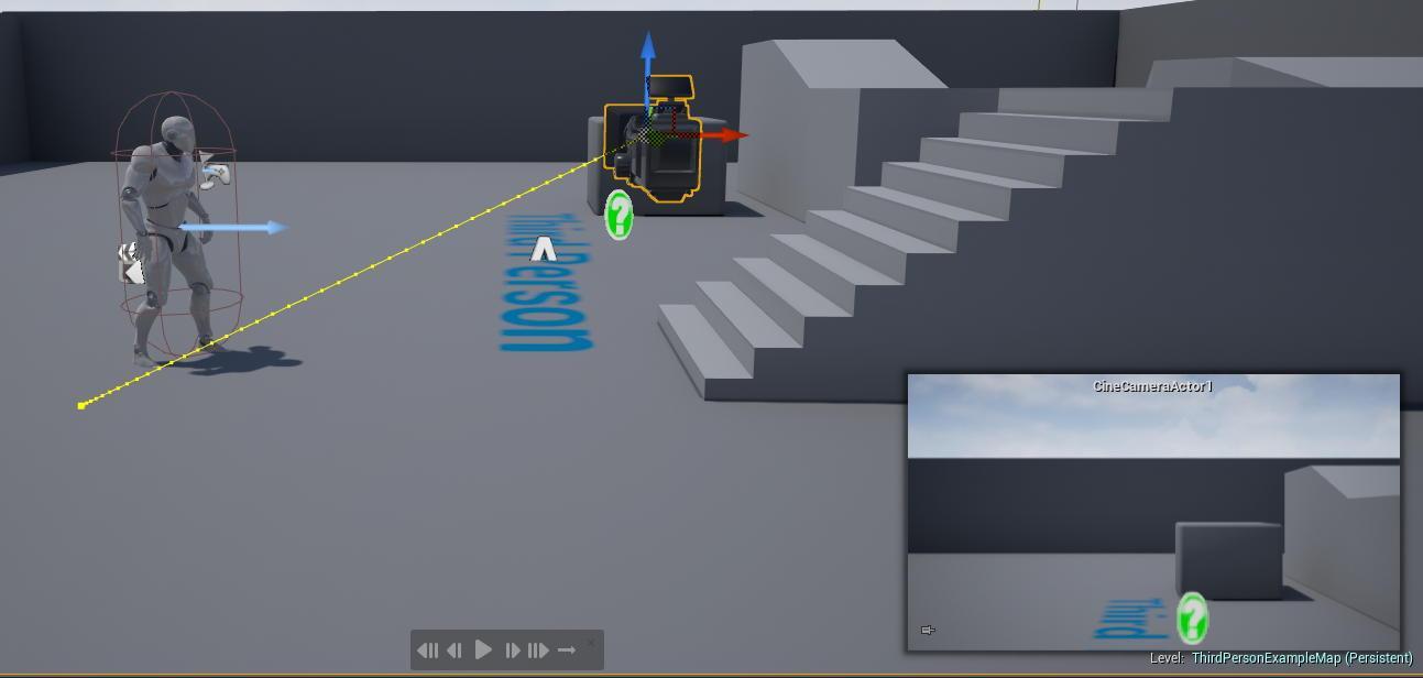 resize,m fill,w 2586,h 1232# - 虚幻引擎UE4中使用Cine Camera Actor跟踪对象拍摄